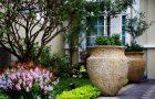 Địa chỉ bán chậu trồng cây Hà Nội trang trí biệt thự